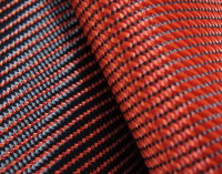 Colored Aramid in Special Woven Design
